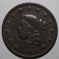 1829 US LARGE CENT V74