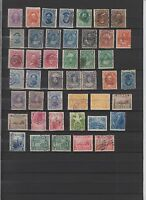 US HAWAII SEL AS OF EARLY PERIOD ON 1X A4 SHEET  44 STAMPS