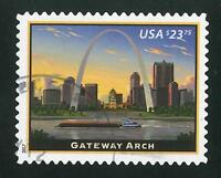 2017 $23.75 GATEWAY ARCH ST. LOUIS EXPRESS STAMP USED
