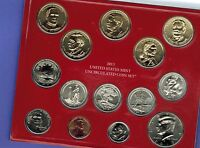 2013 P&D US UNCIRCULATED MINT SET IN ORIGINAL PACKAGE  28 COINS PRESIDENTIAL