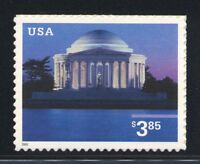 3647 JEFFERSON MEMORIAL $3.85  PRIORITY MAIL MINT SUPERB-NH