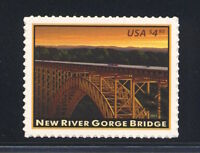 4511 NEW RIVER GORGE BRIDGE $4.95 PRIORITY MAIL MINT SUPERB-NH