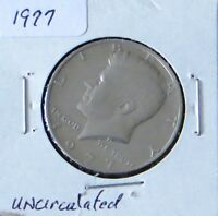 1977 KENNEDY HALF DOLLAR AU/UNCIRCULATED  2P6 WILL COMBINE SHIPPING CHARGES}