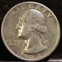 1932 S WASHINGTON QUARTER KEY DATE IDK130