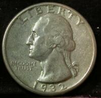 1932 D WASHINGTON QUARTER KEY DATE IDK140