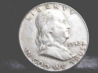 1952 D DENVER FRANKLIN HALF DOLLAR   50 CENTS 3