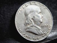 1952 D DENVER FRANKLIN HALF DOLLAR   50 CENTS 5