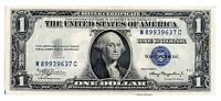 1935 A $1 UNITED STATES SILVER CERTIFICATE BLUE SEAL NICE OLD CURRENCY NOTE
