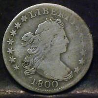 1800 DRAPED BUST DIME IDMM621