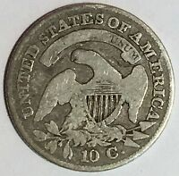 1831 CAPPED BUST DIME JR-3  R OF THE TWO REVERSE CUDS