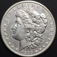 1893 O MORGAN SILVER DOLLAR EXTRA FINE  DETAILS COIN SEMI KEY DATE - ONLY 300,000 MINTED