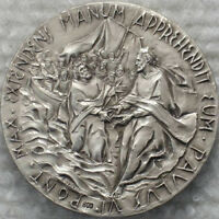 800 SILVER MEDAL POPE PAUL 6 2ND VATICAN COUNCIL 3RD SESSION 1964