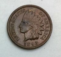 1893 INDIAN  HEAD CENT NICE COIN