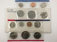 1981 US MINT UNCIRCULATED 13 COIN MINT SET