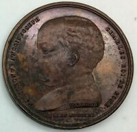 1811  BIRTH OF THE KING OF ROME  BRONZE  MEDAL BY SCHMIDT  41 MM ORIGINAL 23.67G