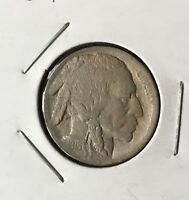 SEMI KEY DATE   1913 D TYPE 1 BUFFALO NICKEL WITH A FULL HORN   T1