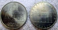 EAST GERMANY DDR COMMEMORATIVE 5 MARK 1971 1972