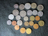 LOT 25 WORLD COINS FROM 25 DIFFERENT COUNTRIES