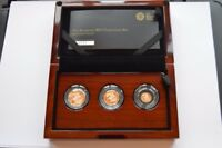 2015 GOLD PROOF SOVEREIGN 3 COIN SET 4TH PORTRAIT