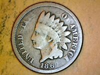 1862 CN INDIAN HEAD CENT NICE COIN B