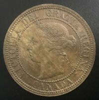 CANADA 1888  LARGE CENT  PLEASING COIN