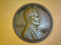 1932 AND 1932D   LINCOLN WHEAT CENT NICE COIN VF XF