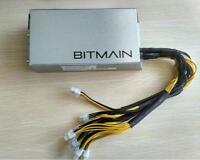 NEW BITMAIN POWER SUPPLY APW3   1600W PSU A3 PCI L3   S7 S9 110 220V DEC BATCH