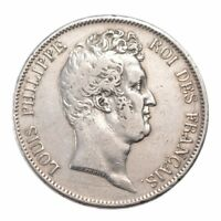[10421] FRANCE LOUIS PHILIPPE 5 FRANCS 1830 PARIS KM 738 EF 40 45