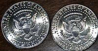 2011 KENNEDY HALF DOLLAR SET P AND D UNCIRCULATED