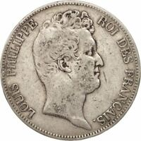 [16263] FRANCE LOUIS PHILIPPE 5 FRANCS 1830 PARIS F 12 15  SILVER