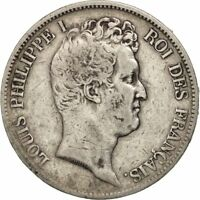 [19720] FRANCE LOUIS PHILIPPE 5 FRANCS 1830 PARIS VF 30 35  SILVER