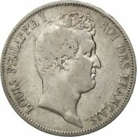 [36329] FRANCE LOUIS PHILIPPE 5 FRANCS 1830 PARIS KM 736.1 VF 30 35