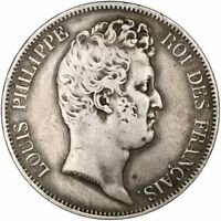 [31934] FRANCE LOUIS PHILIPPE 5 FRANCS 1830 PARIS KM 738 EF 40 45