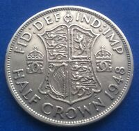 1948 KING GEORGE VI HALF CROWN COIN