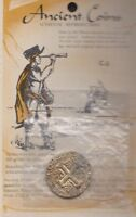 1736 SPANISH  PIRATE SHIPWRECK  GOLD DUBLOON TOKEN MEDAL   NOT REAL GOOD