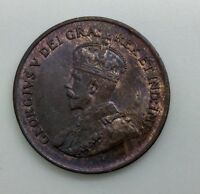 CANADA 1934 SMALL CENT NICE SHARP WELL STRUCK COIN GORGEOUS LUSTROUS EXAMPLE