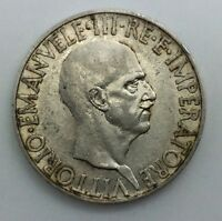 1936 XIV ITALY 10 LIRE SILVER VICTOR EMMANUEL KM80 LUSTROUS AND ORIGINAL