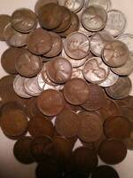 431  QUALITY WHEAT CENTS, ALL 1909 TO 1933-D, APPROX 90 ARE D AND S