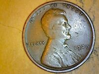 1909 LINCOLN WHEAT CENT    COIN DOUBLING IN LIBERTY