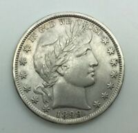 1899 P BARBER HALF DOLLAR DECENT COIN STRONG DETAILS GREAT FOR TYPE
