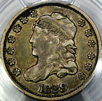 1829 H10C PCGS VF30 CAPPED BUST HALF DIME  CRUSTY ORIGINAL & HIGH-END