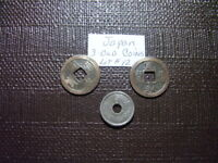 3 COINS    FROM OLD JAPAN    NICE COINS         LOT  12