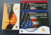 2014 P/D/S US MINT PROOF & UNCIRCULATED SET IN ORIGINAL MINT PACKAGE & COA