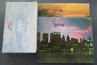 2010 P/D/S US MINT PROOF & UNCIRCULATED SET IN ORIGINAL MINT PACKAGE & COA