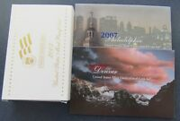 2007 P/D/S US MINT PROOF & UNCIRCULATED SET IN ORIGINAL MINT PACKAGE & COA