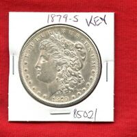 1879 S BU UNC MORGAN SILVER DOLLAR 85021 MS COIN US MINT  KEY DATE ESTATE