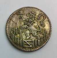 1753 HOLLAND SILVER DUIT    KM80A NICE  COIN