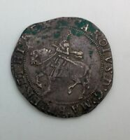 ENGLAND CHARLES I MINT MARK BELL   NICE GREY COLOUR DECENT  DETAILS SOME PATINA