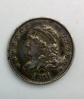 1831   CAPPED BUST HALF DIME  EARLY DATE COLLECTORS COIN NICE ORIGINAL PIECE