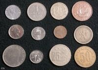 LOT OF 12 WORLD COINS RUSSIA VENEZUELA SWITZERLAND AND MORE   170
